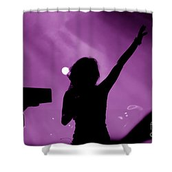 Concert Shower Curtain by Michal Bednarek