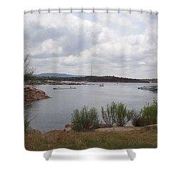 Conchas Dam Shower Curtain