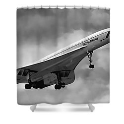 Concorde Supersonic Transport S S T Shower Curtain