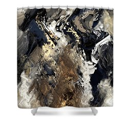 Concretion Shower Curtain by Kevin Trow