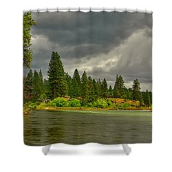 Confluence Shower Curtain