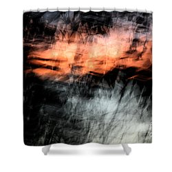 Confusion Shower Curtain by Jessica Shelton