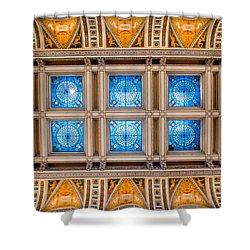 Congress Art Shower Curtain by Greg Fortier