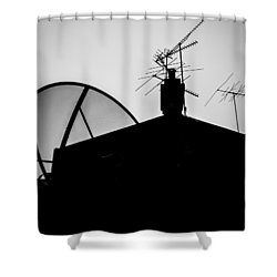 Connected Shower Curtain by Kaleidoscopik Photography