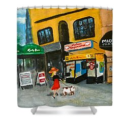 Connecticut Avenue Dc Shower Curtain