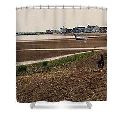 Connecticut Beach Shower Curtain