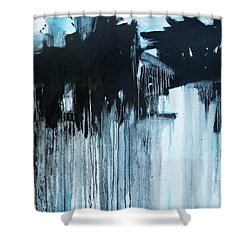 Connections  C2014 Shower Curtain by Paul Ashby