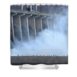 Conowingo Dam  Shower Curtain