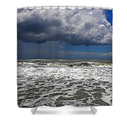 Conquering The Storm Shower Curtain