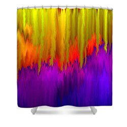 Consciousness Rising Shower Curtain