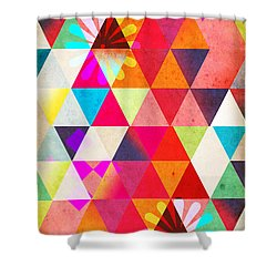 Contemporary 2 Shower Curtain by Mark Ashkenazi