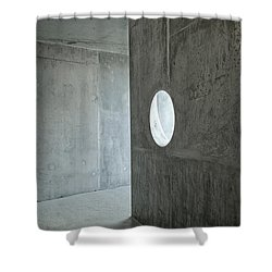 Contemporary Architecture Detail Shower Curtain