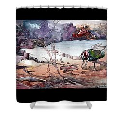 Contest Shower Curtain