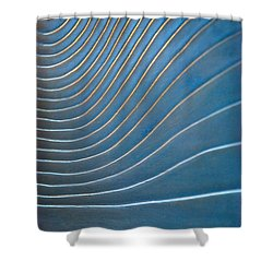 Contours 1 Shower Curtain by Wendy Wilton