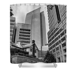 Contrasting Southern Architecture Shower Curtain
