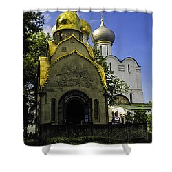 Convent - Moscow - Russia Shower Curtain by Madeline Ellis