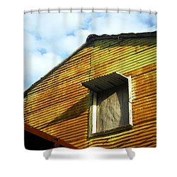 Shower Curtain featuring the photograph Conventillo by Silvia Bruno