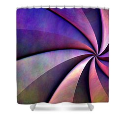 Converge Shower Curtain by Lyle Hatch