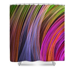 Convergence Shower Curtain by RochVanh