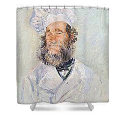 Cook Shower Curtain by Claude Monet