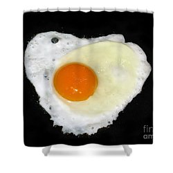Cooking With Love Series. Breakfast For The Loved One Shower Curtain by Ausra Huntington nee Paulauskaite