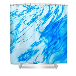 Shower Curtain featuring the photograph Cool Blue by Kellice Swaggerty