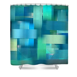 Cool Breeze Shower Curtain by Lourry Legarde