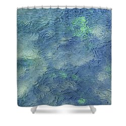 Cool Depths Shower Curtain