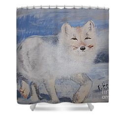 Cool Fox Shower Curtain