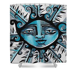 Cool Guy - Here Comes The Suns Shower Curtain