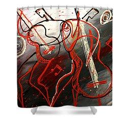 Cool Jazz 2 Shower Curtain