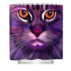 Cool Maine Coon Shower Curtain