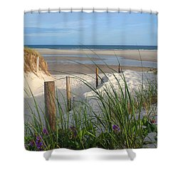 Cool Of Morning Shower Curtain by Dianne Cowen