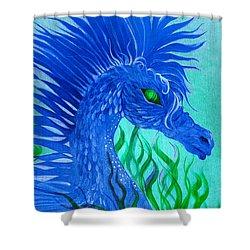 Cool Sea Horse Shower Curtain