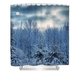 Cool Sunrise Shower Curtain