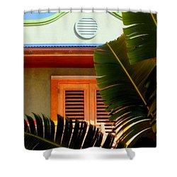 Cool Tropics Shower Curtain by Karen Wiles