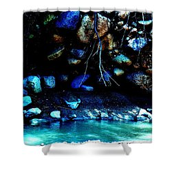 Coal Creek Cedar Canyon Utah Shower Curtain