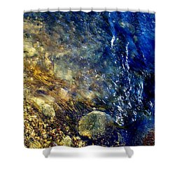 Shower Curtain featuring the photograph Cool Waters...of The Rifle River by Daniel Thompson