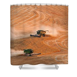 Cooperation Shower Curtain by Mary Jo Allen