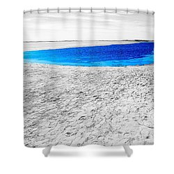 Coorong Sandy Bay Shower Curtain