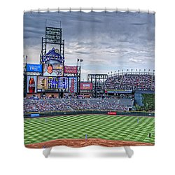 Coors Field Shower Curtain by Ron White