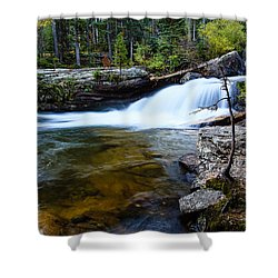 Copeland Falls Rockies Shower Curtain