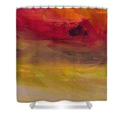 Copper Mist Shower Curtain by Robin Maria Pedrero