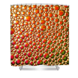 Copper Reflections Shower Curtain