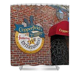 Copperfields Shower Curtain by Barbara McDevitt