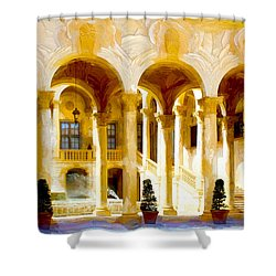 Coral Gables Series 01 Shower Curtain