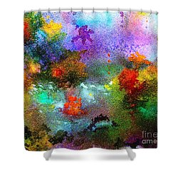 Coral Reef Impression 1 Shower Curtain