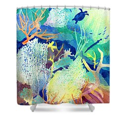 Coral Reef Dreams 2 Shower Curtain