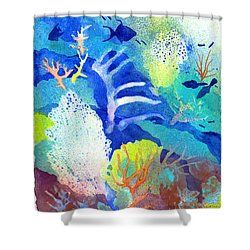 Coral Reef Dreams 3 Shower Curtain