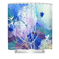 Coral Reef Dreams 5 Shower Curtain